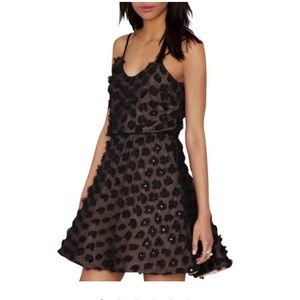 Dress The Population Black Holly Floral Dress